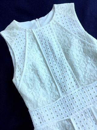 White lace dress #EST50