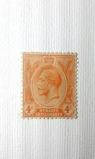 1913 King George V Straits Settlement Stamp
