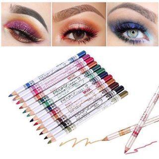 🦄CGL0521 12 Pcs Eyeliner/Lipliner Set🦄