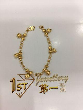 🚚 916 Hold Charm Bracelet