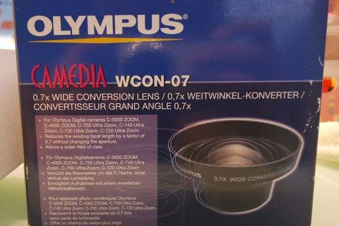 Olympus WCON - 07 Wide Angle Converter 0,7x 55mm廣角鏡