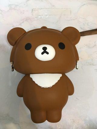 ❗️勿失良機❗️鬆弛熊🧸銀包✨99%新✨