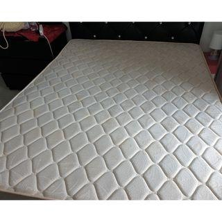 Queen Size Mattress with Bedsheet and cover