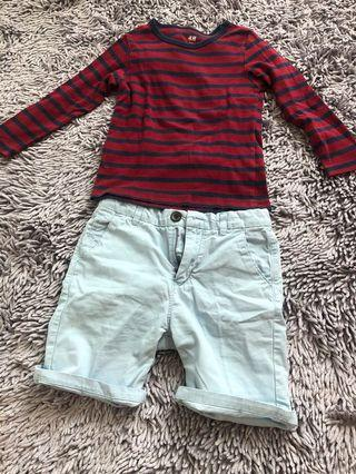 Sale Zara and H&M set for boys