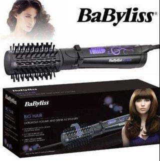 Babyliss big hair (rolling brush - blower - in- one)