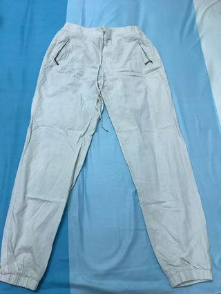 Light baby blue long pants
