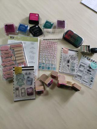 Planner stamps grab bag