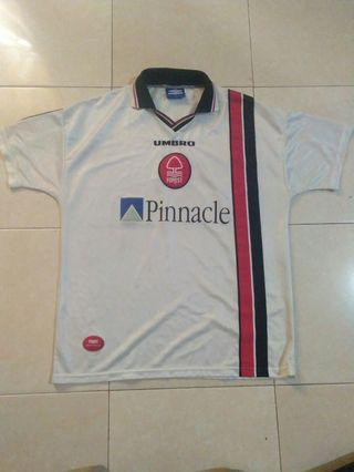 Nottingham Forest Away Jersey 1997 - 2000 White XL