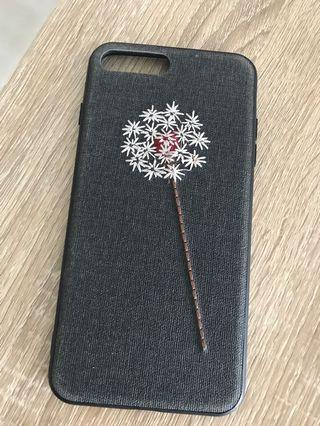 🚚 Iphone 7 Plus Embroidery Flower Cover