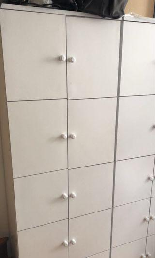 **Moving Sale*** Wardrobe Closet with 5 compartments