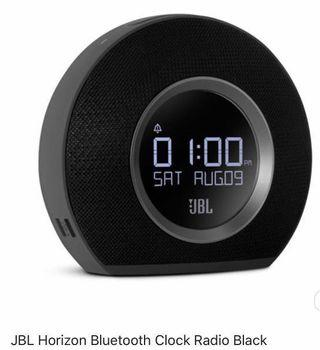 🚚 BNWB JBL HORIZON BLUETOOTH CLOCK RADIO BACK