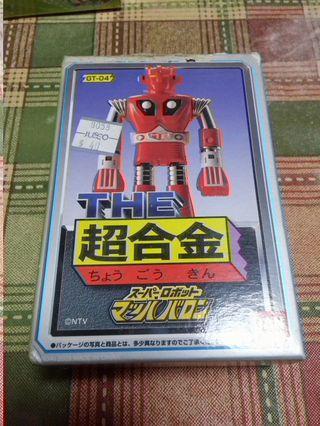 玩具出清 Bandai THE 超合金 GT-04 百變龍