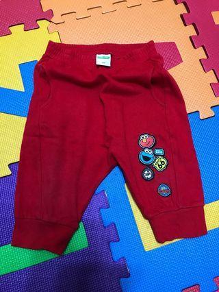 小朋友褲 Pants Sesame Street Size 100