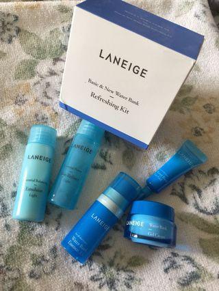 Laneige Water Bank Trial Kit (refreshing kit)