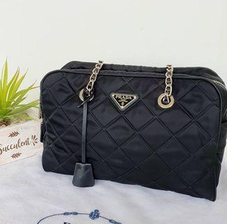 100% Original Prada 1BB903 Nylon Shoulder Bag