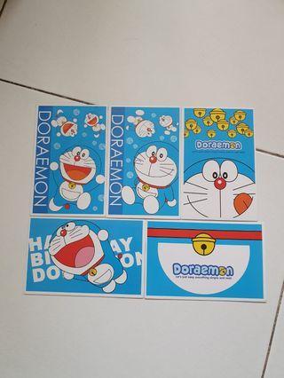 Doraemon post cards