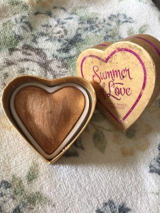 I heart makeup summer of love triple baked bronzer