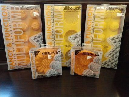 Silikomart made in italy silicone bake mould