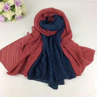 Instock sale 2 for $10 maxi cotton wrinkled shawls