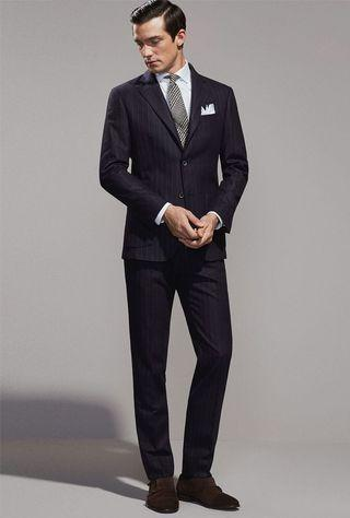 Emporio Armani Pinstripe Suit