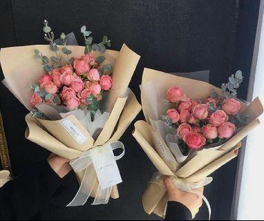 Fresh Flower Rose Bouquet