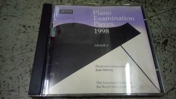 Piano Examination pieces 1997