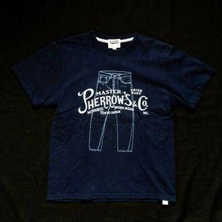 PHERROWS XS/S UNION MADE TSHIRT MADE IN JAPAN