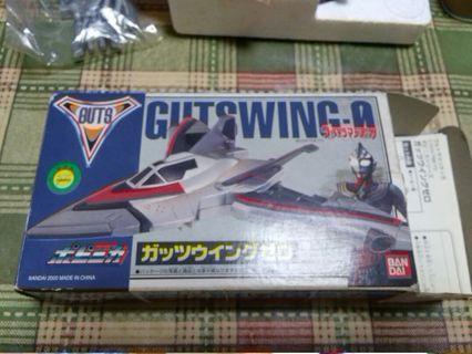 玩具出清 Bandai Ultraman Tiga 超人迪加 地球防衛隊 戰機 Guts Gutswing 0 合金