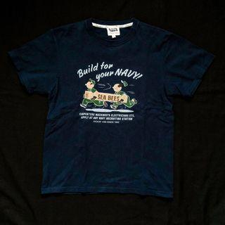PHERROWS SMALL SEABEES GRAPHIC TSHIRT MADE IN JAPAN