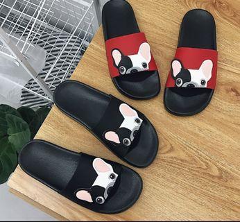🚚 💫ulzzang animal slippers slip on