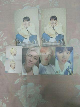 (WTS) BTS MAP OF THE SOUL PERSONA PHOTOCARDS