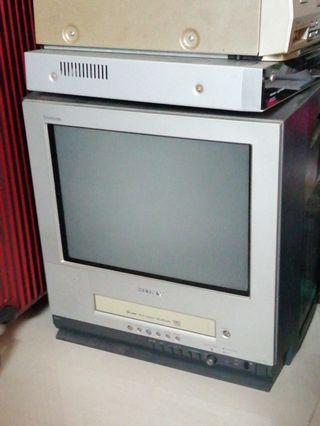 Sony 14吋古董電視