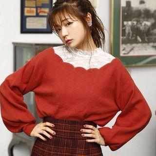 日本Nice Claup 紅色上衣