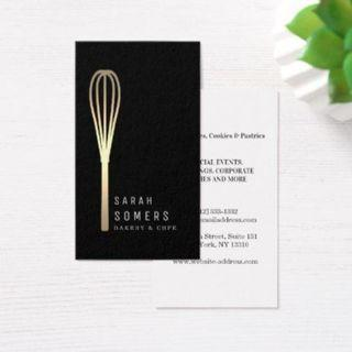 Personalised Namecards for Chef / Home Bakers / Nutritionist / F&B Business