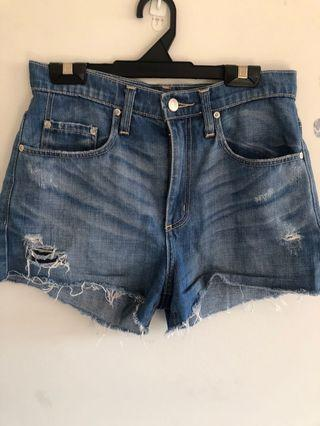 Nobody high waisted denim shorts