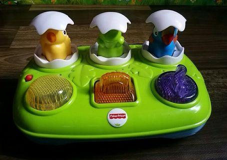 Fisher Price Musical Pop-Up Pals Birds Surprise