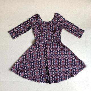🤑 Hollister Aztec Skater Dress