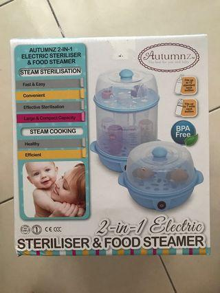 Autumnz 2in1 Electric Steriliser & Food Steamer