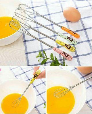 Alat Pengocok telur Berbahan Stainless Steel