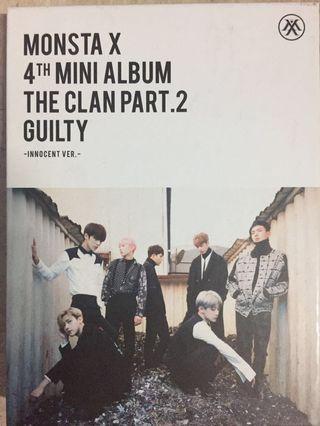 Monsta X 4th mini album The Clan Part 2