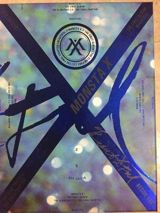 Monsta X 1st album Beautiful