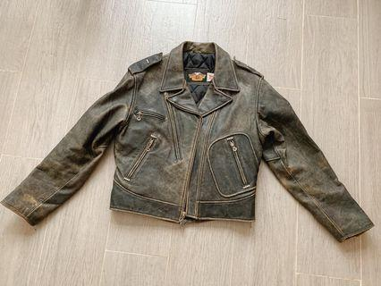 全新哈雷 harley davidson 原廠功能型 皮衣 保證真品 affliction