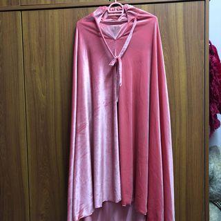 NEW Pink Velvet Telekung