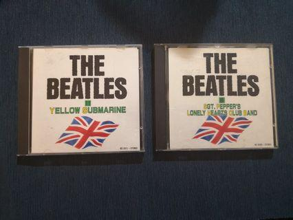 CD - Beatles lot (Japan issue)