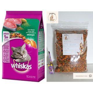 Whiskas Adults Tuna Flavour - 1 kg repack