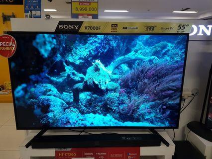 """Cicilan tanpa kartu kredit Led TV Sony 55"""" 4K"""