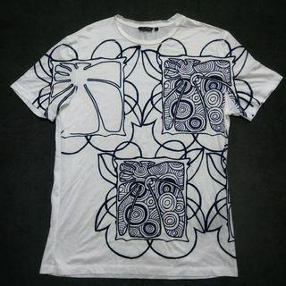 義大利 antony morato 棉T 短T shirt男XL號