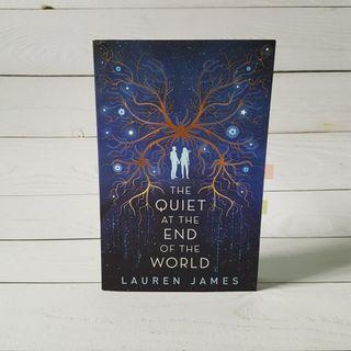 The Quiet At The End of The World || Lauren James  #EndgameYourExcess