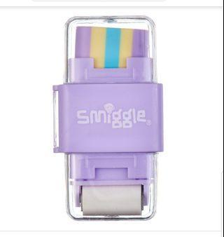 Smiggle 3in1 eraser sharpener and roller rm8 New