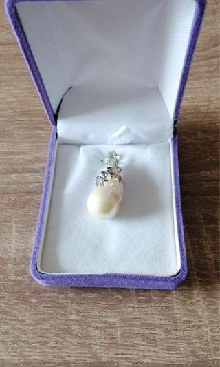 925純銀珍珠鏈咀